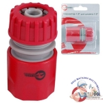 "GE-1016 Конектор 1/2"" для шланга 1/2"" 1 INTERTOOL"