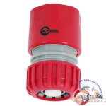 "GE-1021 Конектор с аквастопом 3/4"" для шланга 3/4 INTERTOOL"